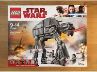 Lego First Order Heavy Assault Walker - new and sealed