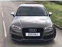 Audi A3 2013 S Line sportback full S3 conversion 5dr