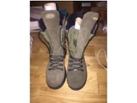 Pair of Orizo hunting boots