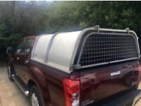 Izuzu D-Max Metal Canopy Roof with hinged grill. Off a 2015 D Max