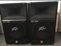 Peavey Speakers +Mixers+amplifier