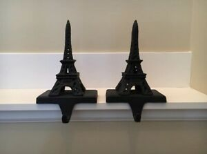 Eiffel Tower stocking holders
