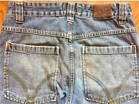 Men's 'DOLCE & CABBANA' Jeans W30 L34 Loose Fit Button Fly Blue