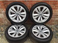 """Genuine 18"""" BMW alloys and Run-flat tyres"""