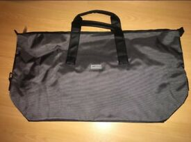 Large Grey Jimmy Choo Duffel Bag