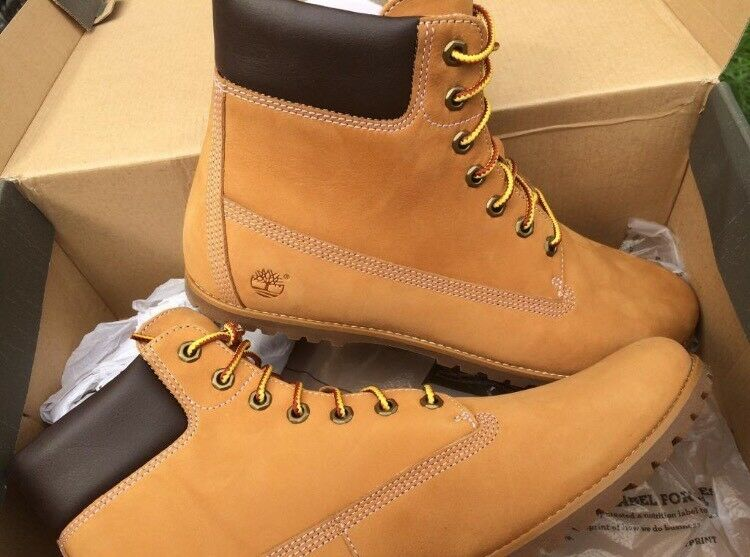 Genuine Timberland Boots Size 7.5 Brand New in Box £75  adfa9f049e47