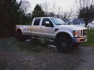 2008 f350 lift dually!!!  New price.