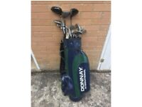 Dunlop Golf Club Set with Bag