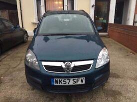 2008 Vauxhall Zafira New shape Semi Auto !!TO CLEAR, COME TAKE AWAY!!