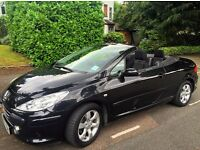 Peugeot 307 cc, Sport Convertible,BARGIN £1850