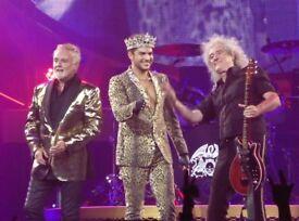 Adam lambert and queen tickets Glasgow 3/12/17