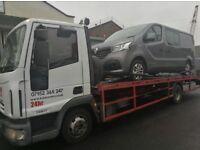 CHEAP 24 hr RECOVERY 07952 365 247 any CAR any VAN. Sandwell, Birmingham, Stourbridge, Wolverhampton