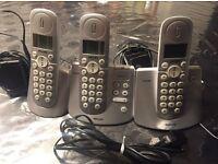 Philips CD240/245 Trio Home Phone Set