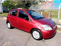 2003 TOYOTA YARIS 1.0 COLOUR COLLECTION CHEAP INSURANCE TAX IDEAL 1ST CAR