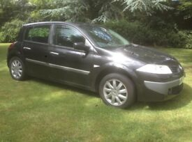 2008 RENAULT MEGANE 1.6 DYNAMIQUE ONLY 80,000 MILES MOT TO SEPTEMBER PAN ROOF!