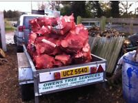 Bag of logs for sale!!