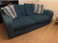 Tea blue sofa £40.00
