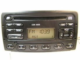 Ford Focus CD player with code