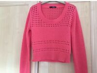 Jane Norman Cropped Jumper size 10