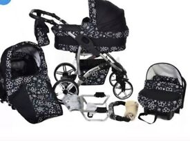Twing 3-1 full travel system from birth to 4 years