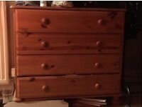 Chest of drawers (x2)