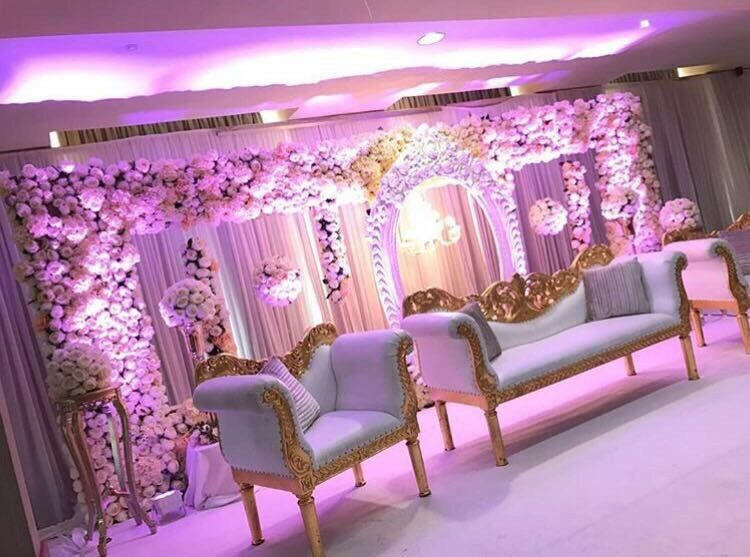 Asian Wedding Stage And Decoration