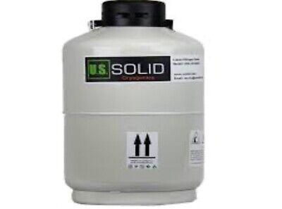 6 L Liquid Nitrogen Container Cryogenic Tank Ln2 Dewar 6 Canisters U.s.solid