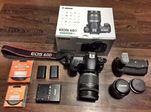 Canon 60D w/ 18-200 & 50mm