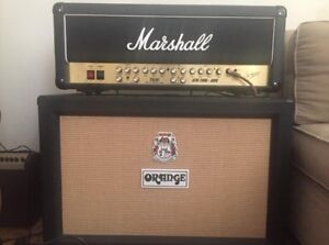 Marshall TSL 60 JCM 200 Head & Orange PPC 212 Cab