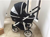 White Special Edition Venicci 3 in 1 Travel System