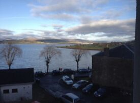 2 bedroom flat for rent. Cardwell Road, Gourock. 2nd floor. Unfurnished. £450pcm. Lovely views!