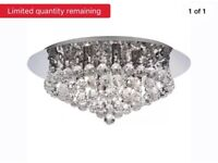 x2 crystal chandeliers IMMACULATE condition