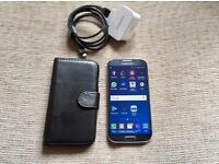 "Samsung galaxy S4 5"" inch screen unlock to all networks 16 GB + 16 GB SD card"