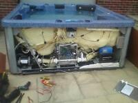 Hot tub repair  and service