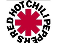 Red hot chili peppers 18.12.16 O2 Arena London