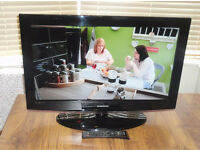 """Samsung 32"""" HD LCD TV with Built in Freeview"""