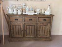 Medium Oak furniture set
