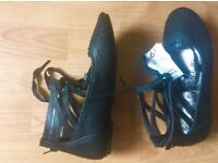 Leather ballet style shoes size 3