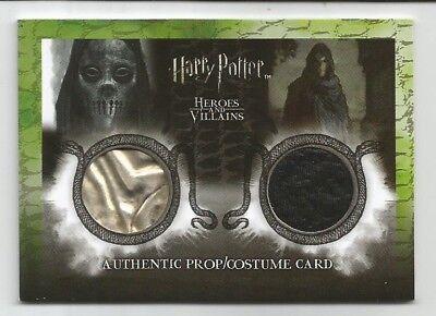 HARRY POTTER  2010 Artbox  DEATH EATER Dual  Prop & Costume  - Death Eater Costume