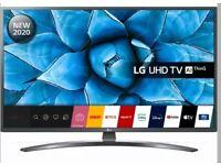 """Broken LG - 43UN74006LB 43"""" smart 4K Ultra HD HDR LED TV with Google Assistant & Amazon Alexa"""