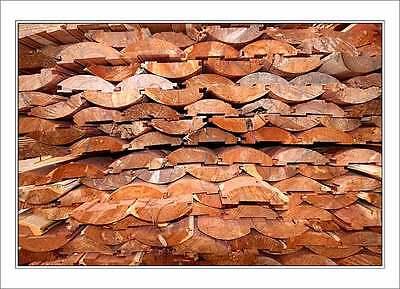2x6 Native Cedar Log Siding - WE SHIP FREE SAMPLES