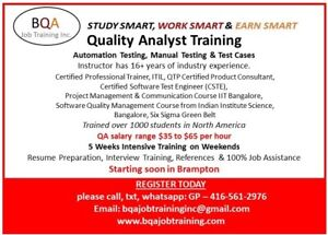QUALITY ANALYST SOFTWARE TESTING MANUAL & AUTOMATION COURSE