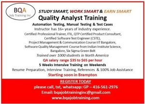 QUALITY ANALYST SOFTWARE TESTING COURSE MANUAL & AUTOMATION JOIN