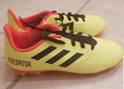 6276943f8 NWT Adidas Predator 18.4 FXG Kids Soccer Cleats SZ 1