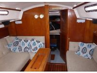 Sailing boat - 32 foot Saler 32
