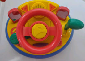 Baby Toddler Car Driving Steering Wheel Interactive Toy