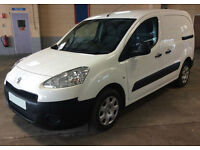 ONLY £131.20 PER MONTH WHITE 2013 PEUGEOT PARTNER 1.6 L1 HDI S MANUAL DIESEL