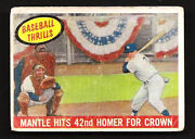 1959 Topps Mickey Mantle 461