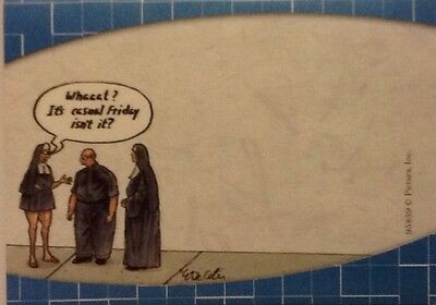 Lot Of 3 Humorous Religious Sticky Note Pads Funny Nun Priest Decetis 120 Sheets