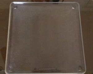 Square Microwave Plate